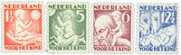 Holland 1930 - NVPH 232-235 - Ubrugt