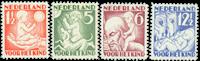 Holland 1930 - NVPH 232-235 - Ubrugt
