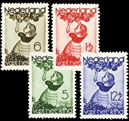 Holland 1935 - NVPH 279-282 - Ubrugt