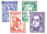 Holland 1928 - NVPH 220-223 - Postfrisk