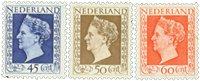 Holland - NVPH 487-489 - Ubrugt