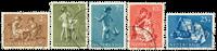Nederland 1954 - Nr. 649-653 - Gebruikt