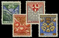 Holland 1926 - NVPH 199-202 - Ubrugt