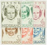 Nederland 1946 - Nr. 454-459 - Postfris