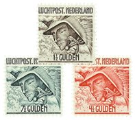 Holland 1929 - NVPH LP6-LP8 - Ubrugt