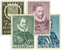 Holland 1933 - NVPH 252-255 - Postfrisk