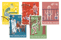 Holland 1959 - NVPH 731-735 - Stemplet