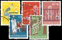 Nederland 1959 - Nr. 731-735 - Gebruikt