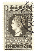 Holland 1913 - NVPH 93 - Stemplet