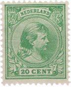 Holland - NVPH 40 - Ubrugt