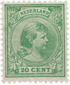 Holland - NVPH 40 - Ubrugt
