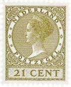 Holland - NVPH 189 - Ubrugt