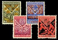 Holland 1927 - NVPH 208-211 - Ubrugt
