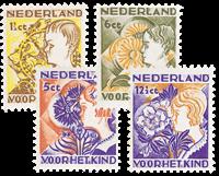 Holland 1932 - NVPH 248-251 - Ubrugt