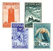 Pays-Bas - NVPH 257-260 - Neuf avec charnière