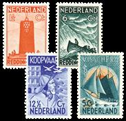 Holland 1933 - NVPH 257-260 - Ubrugt