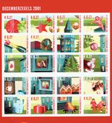 Nederland - Kerstzegels 2001 (V2014-2033,postfris)