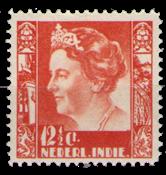 Nederland - Indië, Koningin Wilhelmina 1933 oranje  (nr. 181, postfris)