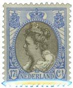 Holland - NVPH 67 - Ubrugt