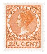 Holland - NVPH 191 - Ubrugt