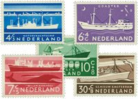 Holland 1957 - NVPH 688-692 - Postfrisk
