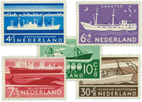Holland 1957 - NVPH 688-692 - Postfrisk