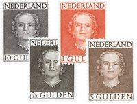 Nederland 1949 - NVPH 534-537 - Postfris