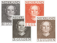 Holland 1949 - NVPH 534-537 - Postfrisk