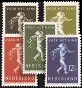 Netherlands 1939 - NVPH 327-331 - Mint