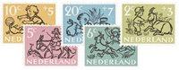 Pays-Bas - NVPH 596-600 - Neuf
