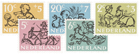 Holland 1952 - NVPH 596-600 - Postfrisk