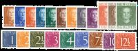 Nederland Cijferserie 1950 - Nr. 1-21 - Postfris