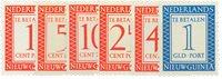 Nederlands Nieuw Guinea - 1957 - Nr. P1-P6 - Postfris