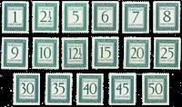 Holland 1952-59 - NVPH P44-P60 - Postfrisk