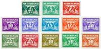 Holland 1941 - NVPH 379-391 - Postfrisk