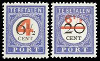 Nederland - Nr. P29-P30 - Postfris