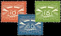 Holland 1921 - NVPH LP1-LP3 - Postfrisk