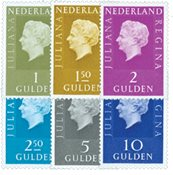 Holland - NVPH 952b-958b - Postfrisk