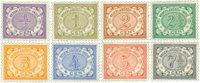 Holland 1902-1909 - NVPH 40-47 - Postfrisk