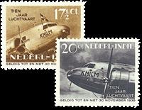 Netherlands 1938 - NVPH 239-240 - Mint