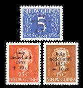 Nederland - Watersnoodzegels 1953 (nr. 22-24, postfris)