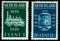 Nederland 1939 - Nr. 325-26 - Postfris