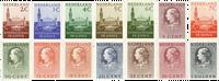 Nederland 1951-1953 - Nr. D27-D40 - Postfris