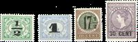 Nederland Indië - Nooduitgifte 1917-1918 (nr. 138-141, postfris)