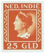 Nederland Indië - 25 gld oranje 1941 (nr. 289, postfris)