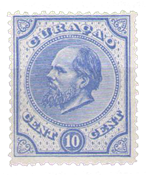 Curacao - 10 ct Willem III - No 4 neuf avec ch.