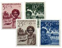 Nederlands Nieuw Guinea - 1957 - Nr. 45-48 - Postfris