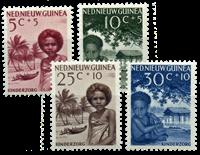 Nieuw Guinea - Kinderzegels 1957 (nr. 45-48, postfris)