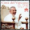 Vatikanet - Pavens 100 års fødselsdag - Postfrisk frimærke