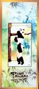 Singapour - Panda géant - Feuillet souvenir spécial neuf